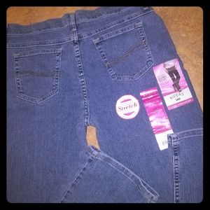 LEE RIDERS Classic Straight Leg Jeans NWT *Stretch